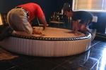 кръгла спалня по индивидуален проект